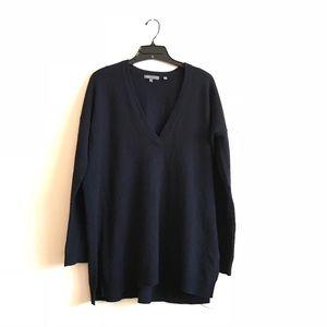 Vince Wool Cashmere V-neck Sweater